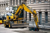 Industrial digger — Stock Photo
