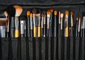 Closuep of makeup tools — Stock Photo