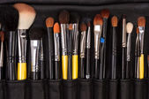 Closuep of makeup tools — Stock Photo