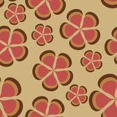 Blomma mönster bakgrund sömlösa — Stockfoto