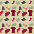 Stock Photo: Women's Accessories seamless pattern