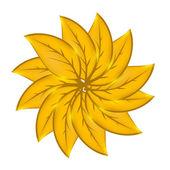 осенний лист экологического фона. векторные иллюстрации — Стоковое фото