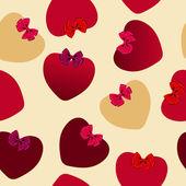 Valentijn naadloze hart patroon — Stockfoto