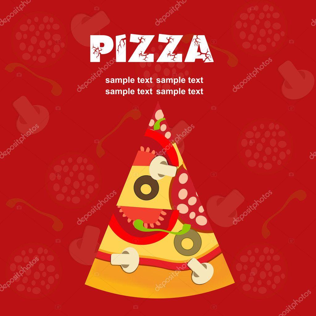 Pizza Menu Template illustration Photo Yganko 8154762 – Sample Pizza Menu Template