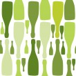 Vector background with bottles. Good for restaurant or bar menu — Stock Photo