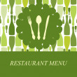 The concept of Restaurant menu. — Stock Photo
