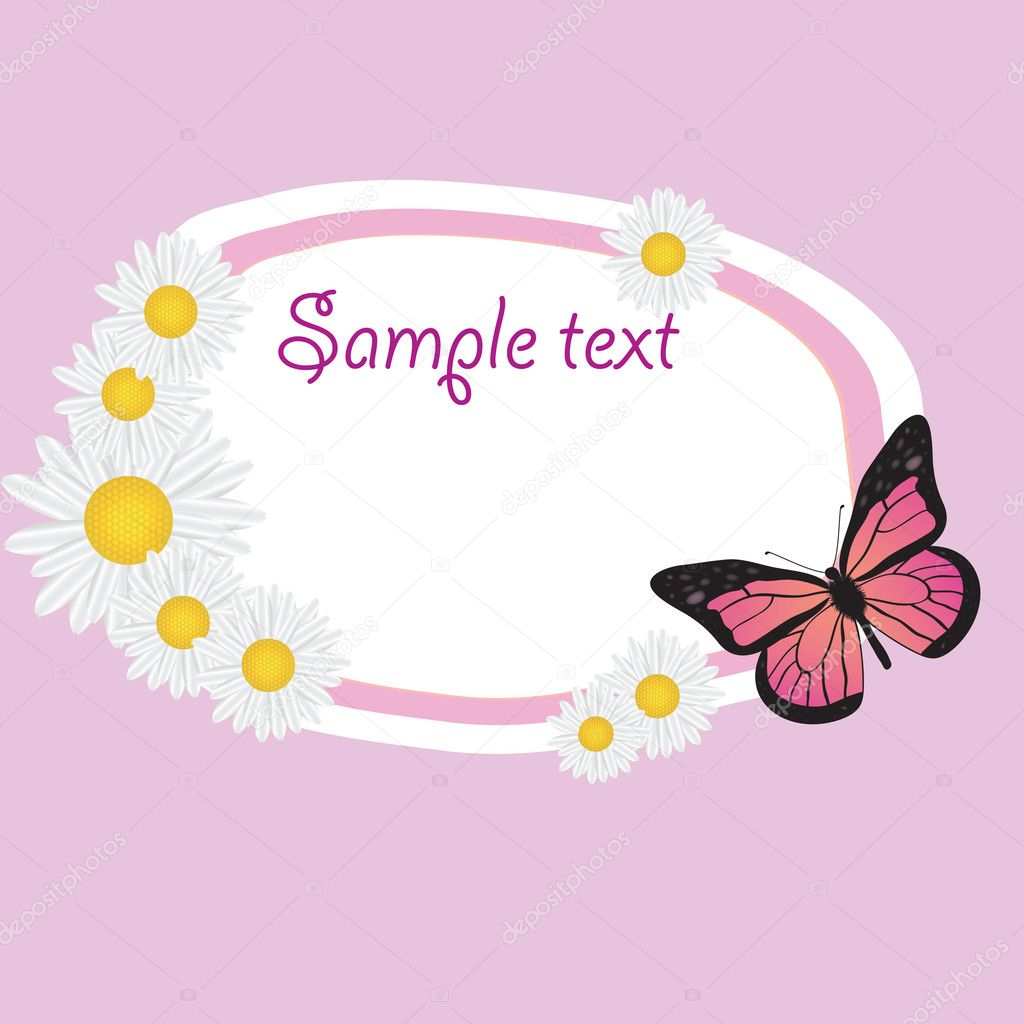 Cute frame design. vector illustration  Stock Photo #8570319