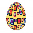 Stock Photo: Fine painted egg designed for Easter