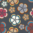Flower pattern background seamless — Stock Photo