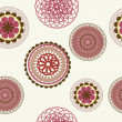 Flower pattern background seamless — Stockfoto