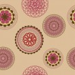Flower pattern background seamless — Foto de Stock