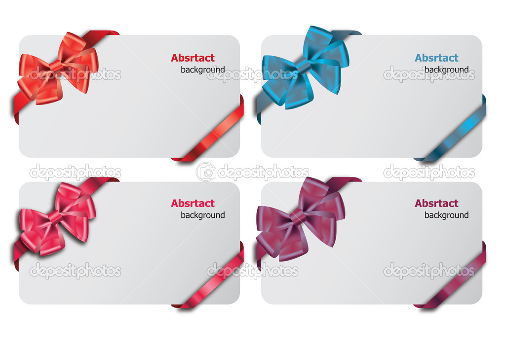 Beautiful gift card, vector illustration.  Stock Photo #8972265