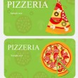 Pizza Menu Template, vector illustration — Stock Photo #9027317
