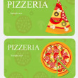 Stock Photo: Pizza Menu Template, vector illustration