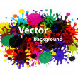 Vector splash abstract background — Stock Photo