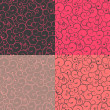 Seamless pattern in abstract style vector illustration backgroun — Stock Photo