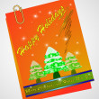 Christmas note paper — Foto Stock