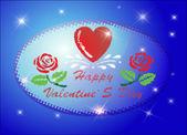 バレンタインの日 — ストックベクタ