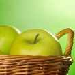 Green apples — Stock Photo #9065277