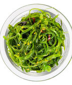 Seaweed Salad chuka top view — Stock Photo