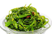 Seaweed Salad chuka on plate — Stock Photo