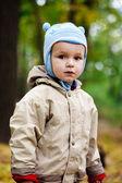 在公园里的小宝贝 — 图库照片