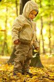 Niño en el parque — Foto de Stock