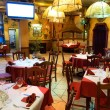 Italian restaurant with a traditional interior — Foto de stock #8992860