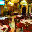 Italian restaurant with a traditional interior — Stock Photo #8992861