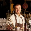 Barman at work — Stock Photo #9172118