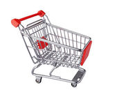 This is shopping cart isolated — Stock Photo