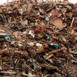 Foto Stock: Massive pile of junk