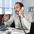 Businessman on the phone — Stock Photo #10020347