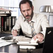 Angry Businessman — Stock Photo #7992078