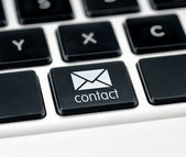 Contact button — Stock Photo
