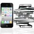 Apple iPhone 4S — Stock Photo