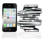 Apple iphone 4 s — Stockfoto