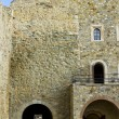Main entrance in an old castle — Stock Photo #8935677