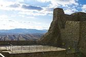 Ruinen einer alten burg in osteuropa — Stockfoto