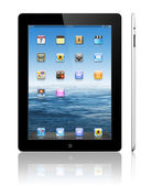 Apple iPad 3 black — Stock Photo