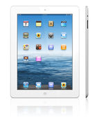 Apple iPad 3 white — Stock Photo