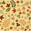 Royalty-Free Stock Photo: Autumnal leaf background