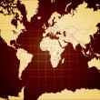 Detailed vector world map — Stock Photo #7972109
