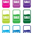 Sale price tags — Stock Photo
