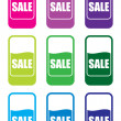 Stock Photo: Sale price tags