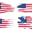 American flag background — Stock Photo #7995828
