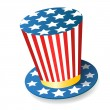 Uncle Sam Hat — Foto Stock #7996328