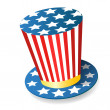 Uncle Sam Hat — Stock Photo #7996328