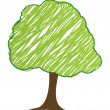 Vector tree design, easily editable vector illustration — Stock Photo #7996330