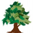 Vector tree design, easily editable vector illustration — Stock Photo #7996344